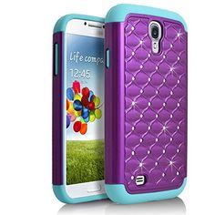 Galaxy S4 Case, Starshop Slim Dual Layer Armor Phone Case…