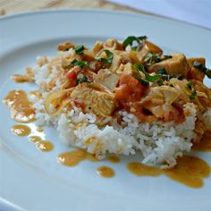 Creamy chicken and tomato curry @ http://allrecipes.co.uk