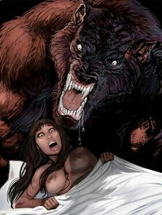 Werewolves (How like Wolfgang and Renate, from my erotic horror novel, 'Wolfgang'!)