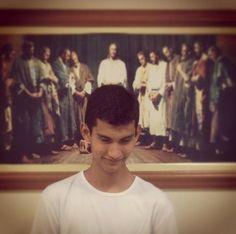 Recebendo o sacerdócio kkkkkk... receiving the priesthood ;) #Lds #Mormon #MormonNerd #Sud