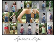 Tutorial: Open back apron top, no layering required