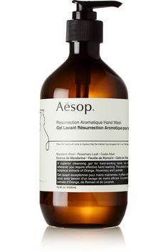 Aesop soap is my fave