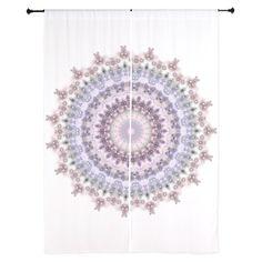 Purple Vintage Mandala kaleidoscope pattern. Detailed and delicate mandala