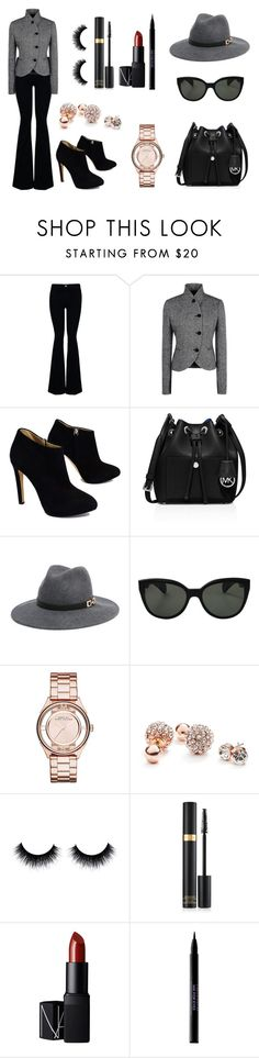 """""""Sin título #757"""" by pinkybunny on Polyvore featuring moda, STELLA McCARTNEY, Giuseppe Zanotti, MICHAEL Michael Kors, Bebe, Oliver Peoples, Marc by Marc Jacobs, GUESS, NARS Cosmetics y Urban Decay"""