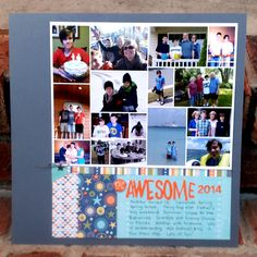 Awesome 2014 - Scrapbook.com