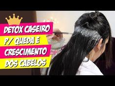 DETOX CAPILAR CASEIRO P/ CRESCIMENTO E QUEDA DOS CABELOS! por Julia Doorman - YouTube
