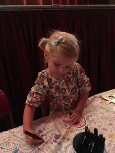 babyborrel - kinderanimatie - tafelkleed om in te kleuren