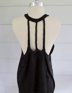 DIY  for tee shirts | ... racer back tee shirt diy 3 three braid back repinned from wobisobi diy