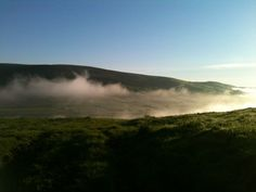 Pendle Hill, rising from the Mist