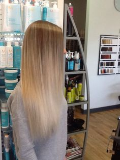 053153d14f Hayden at epic hair designs kenmore has done a long balayage in light brown  to cool blonde