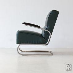 Stahlrohr Sessel sessel bauhaus freischwinger ferdinand christall auf dawanda com