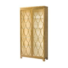 Preview Display Cabinet - Gold     Theodore Alexander  6302-111