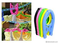 Katlanabilir Askı: Dual Folding Hanger (5 Adet) | Bitenekadar.com