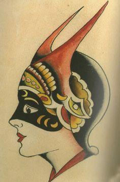 girl head by Amund Dietzel