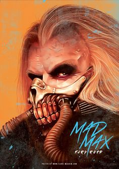 Mad Max - movie poster - Flore Maquin