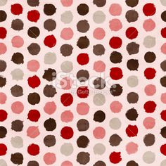 Vector funky retro seamless pattern Royalty Free Stock Vector Art Illustration