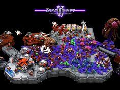 StarCraft – A Lego Microscale Collaboration