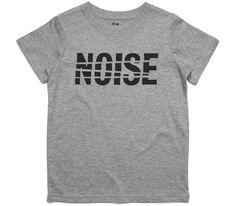 El Cheapo Noise (Black) Youth Grey Marle T-Shirt