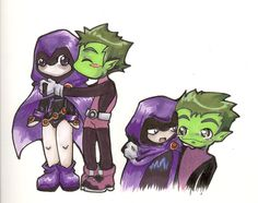 raven and beast boy | Downloads