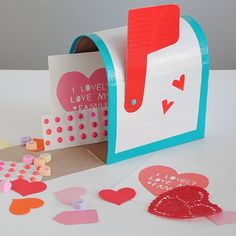 Share the Love With These 15 Valentine Mailboxes: Once you've figured out your kids' classroom valentines, they'll need something to stash them in!