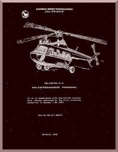 """Mil Mi-2 """" Hoplite """" Helicopter Maintenance Manual , 1978 ( English Language ) - Aircraft Reports - Manuals Aircraft Helicopter Engines Propellers Blueprints Publications"""