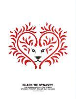 Black Tie Dynasty Poster - Granada Theater, Dallas - Dirk Fowler