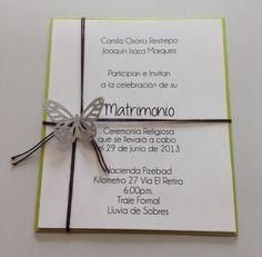 Invitacion boda