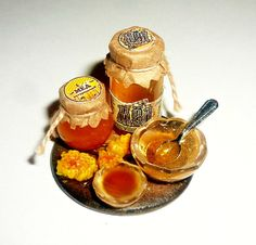 Dollhouse miniature Honey