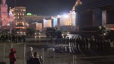 RS-24 Yars, Armata T-14s parade through Moscow, Russia for V-Day rehearsal.