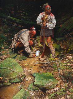 Los nativos indios eran grandes rastreadores y podían recorren grandes distancias. Su conocimiento del terreno les permitía cambiar de río si convenía mejor para acortar el tiempo del viaje o ocultarse en el interior de los bosques para no ser alcanzados.