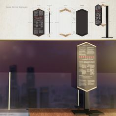 LOUIS KIENNE HOTEL – WAYFINDING SYSTEM – Kaze Lim Hotel Signage, Concept
