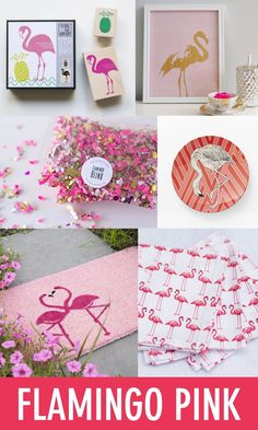 Color Trend: Flamingo Pink // Twin Stripe