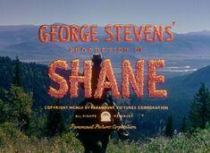 Shane (1953) blu-ray movie title