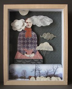 julie liger-belair: 'head in the clouds'  :  new work for my upcoming exhibition.