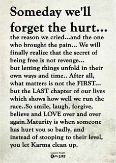 #someday #forget #well #hurt #theSomeday we'll forget the hurt Someday we'll forget the hurt......Someday we'll forget the hurt...... Wisdom Quotes, True Quotes, Great Quotes, Words Quotes, Quotes To Live By, Motivational Quotes, Inspirational Quotes, Sayings, Let Down Quotes