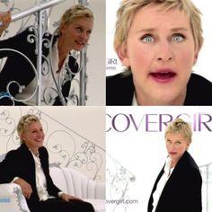 Ellen DeGeneres- The top left is my favorite