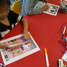 Last month, the kids were able to color and create their own fashions, and watch them walk down the runway using the Quiver app for the Fashion Show program! Lots of fun! 3d Fashion, Fashion Show, Quiver, To Color, Runway, Public, Walking, App, Watch