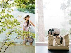 onasummers-day:  my ideal weekend bag.