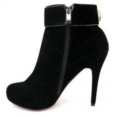 Cheap Christian Louboutin Trottinette Suede Ankle Boots Black Sale : Christian Louboutin$240.79