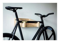 So easy and quick to make, this bicycle storage rack by build something is ideal for the whole family in a weekend. Bike Hooks, Bike Hanger, Bike Shelf, Bicycle Storage, Bicycle Rack, Pimp Your Bike, Velo Design, Range Velo, Renegade Craft Fair