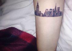 skyline tattoo - Pesquisa Google