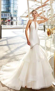 Courtesy of Eddy K Wedding Dresses Sky Collection; www.eddyk.com; Wedding dress idea.