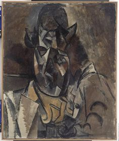 """Pablo Picasso, """"Portrait de Georges Braque"""""""