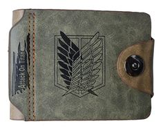 Attack on Titan Shingeki No Kyojin Wallet*Multiple Choice *** More info could be found at the image url. (This is an Amazon Affiliate link and I receive a commission for the sales)