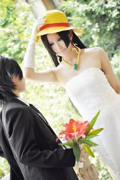 Luffy x Hancock - LuHan - One Piece Cosplay Luffy And Hancock, One Piece Cosplay, Luhan, Ships, Outfits, Pictures, Boats
