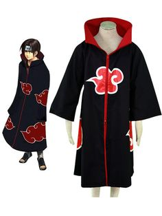 Akatsuki Fashion Naruto Halloween costume