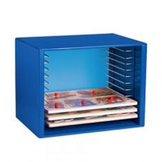 Puzzle Case - Blue, Holds 12 puzzles at CPtoys.com - $40.00 - check size of puzzles first