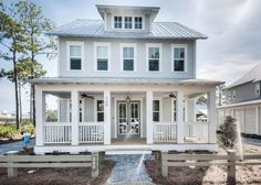 House of Turquoise: David Weekley Homes in Watercolor, Florida