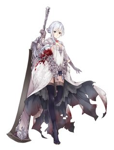 View an image titled 'Snow White, Breaker Job Art' in our SINoALICE art gallery featuring official character designs, concept art, and promo pictures. Fantasy Character Design, Character Design Inspiration, Character Concept, Character Art, Concept Art, Manga Characters, Fantasy Characters, Anime Art Girl, Manga Art