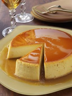 Creamy Caramel Flan Recipe from Taste of Home
